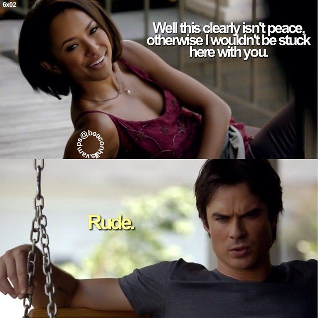 I'm surprised by how much I love Ian Somerhalder's and Kat Graham's chemistry.