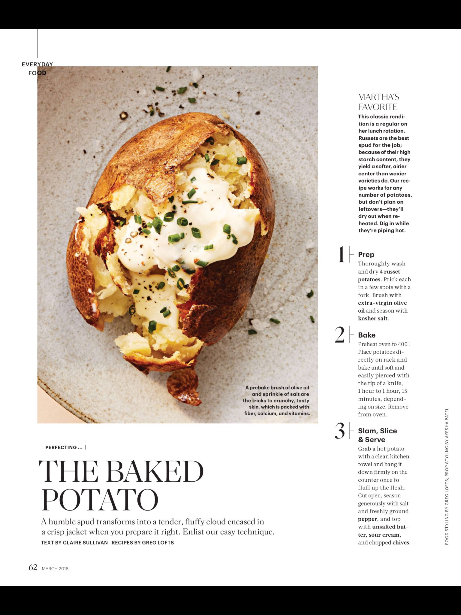 the baked potato from martha stewart living march 2018 read it on