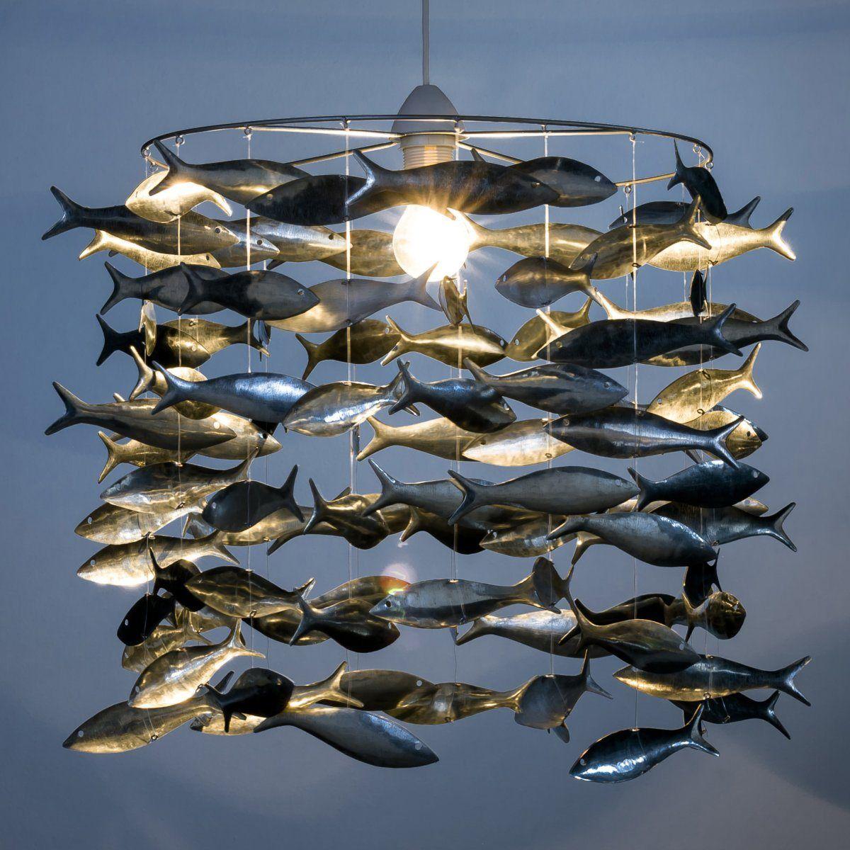 suspension poissons fish pinterest suspension poissons et luminaires. Black Bedroom Furniture Sets. Home Design Ideas