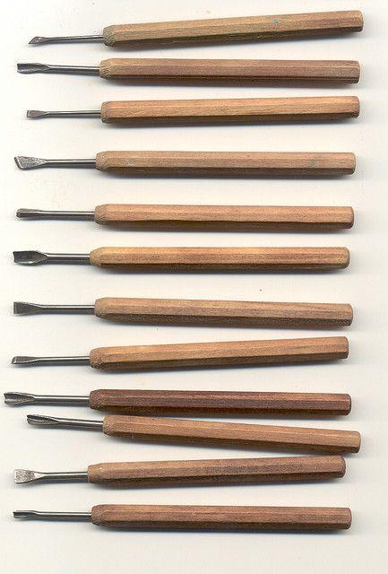 Japanese Carving Tools Avec Images Outils Sculpture Bois