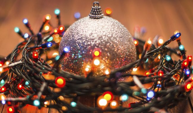 Sparkle and shine during tree trimming time Light up your tree for