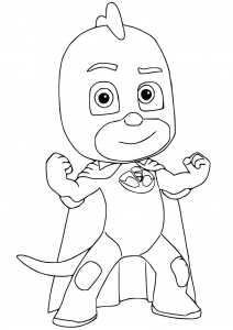 PJ Masks - Free printable Coloring pages for kids (With ...