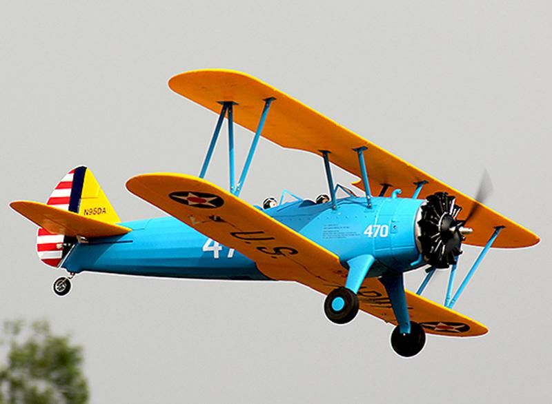 Boeing Stearman PT-17 Trainer Remote Control Aircraft | Products