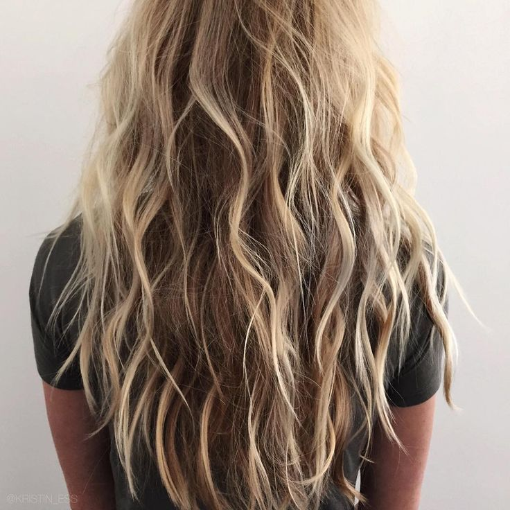 Beachy Waves Long Hair Blonde Style Hair Pinterest