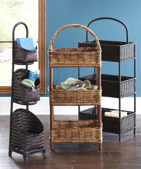 Pier 1 3 Tiered Baskets Give You Power Over Clutter