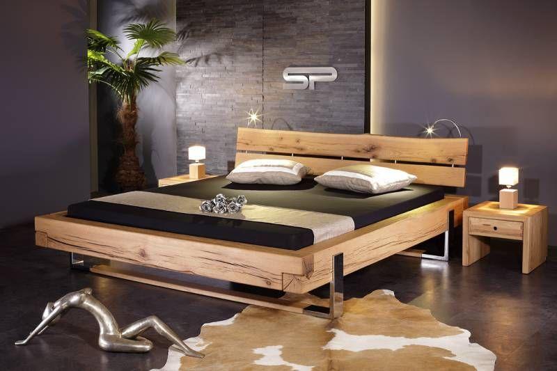 neuheit kufen balken bett klicken zum vergr ssern. Black Bedroom Furniture Sets. Home Design Ideas