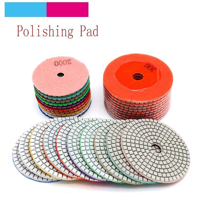 10pcs 3 4 Diamond Polishing Disc Granite Marble Polish Wet Use Concrete Sander Pad Diamond Tool Stone Grinding Buff 10pcs Diamond Polishing Disc Strumenti