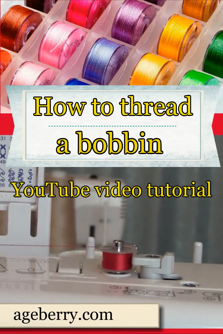 Photo of How to fill a bobbin