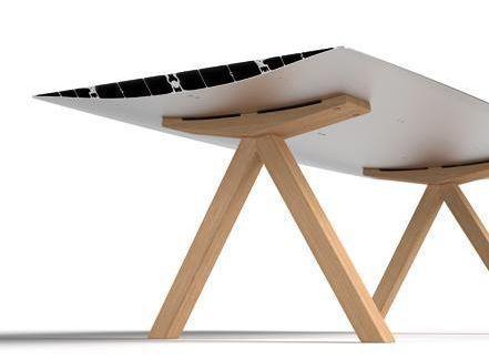 Moderner Tisch / fur Innenbereich / von Konstantin Grcic - B WOOD