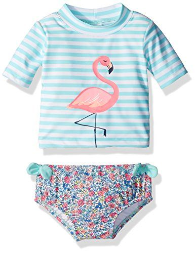5dcf431926839 Carters Baby Girls Short Sleeve Rash Guard Swimsuit Set Mint 24 Months      Read more reviews of the product by visiting the link on the image.