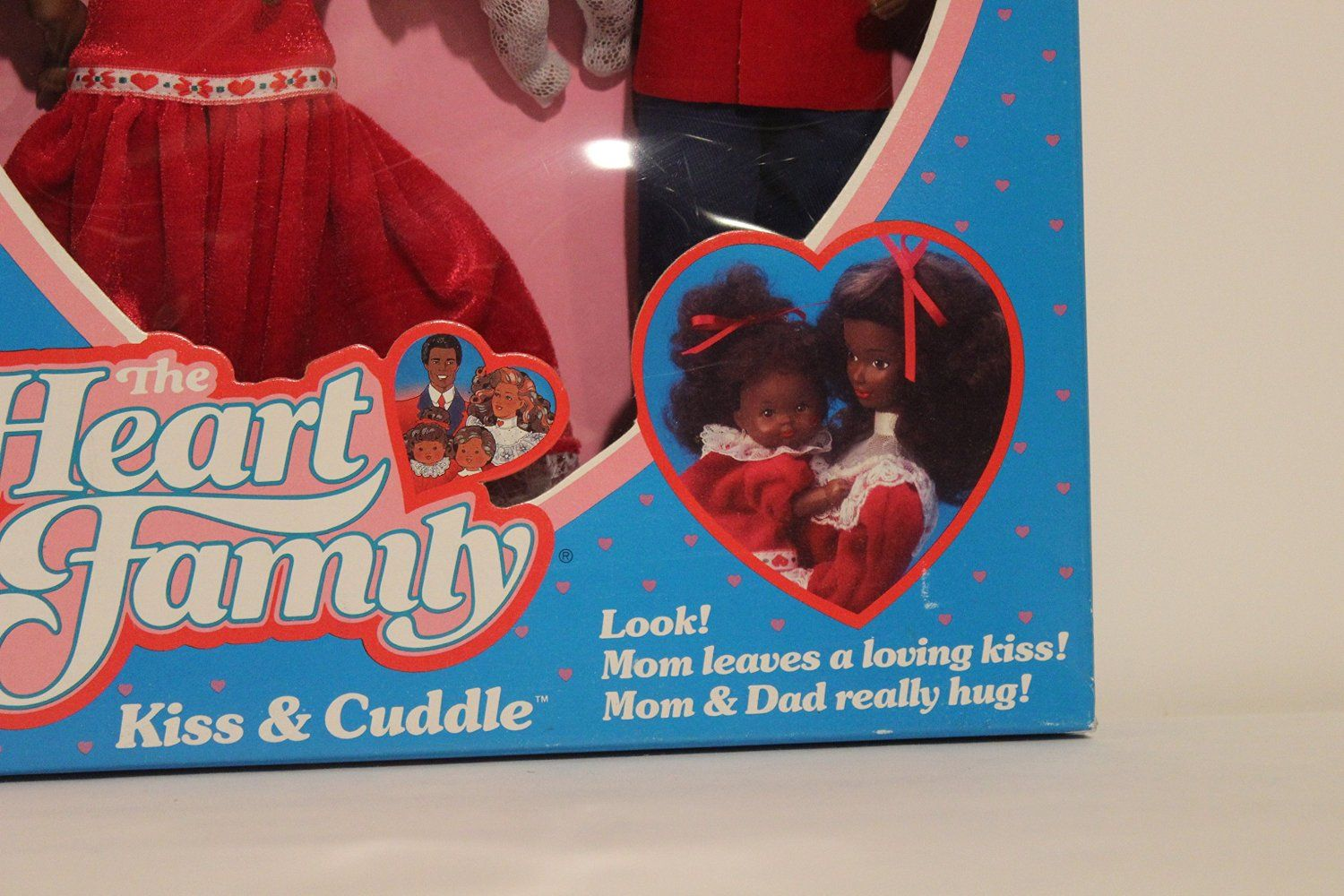 Amazon.com: The Heart Family Kiss & Cuddle African-American 1986: Toys & Games