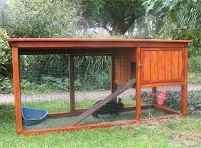 Rabbit pen plans easiest tool to make rabbit cages info for Duck hutch plans