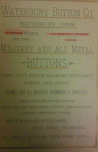 ButtonArtMuseum com - The Waterbury Button Company Catalog