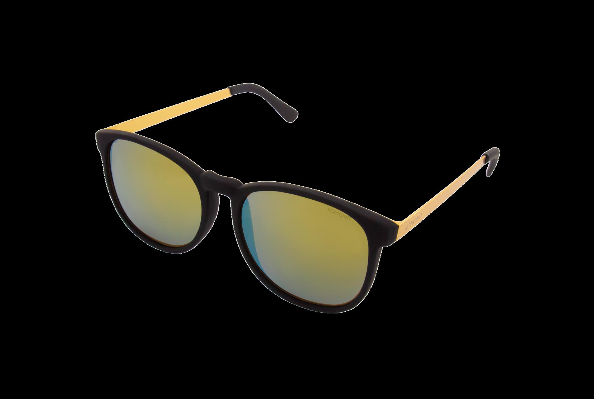 Komono Clement metal blackgold | Vêtements Sunglasses