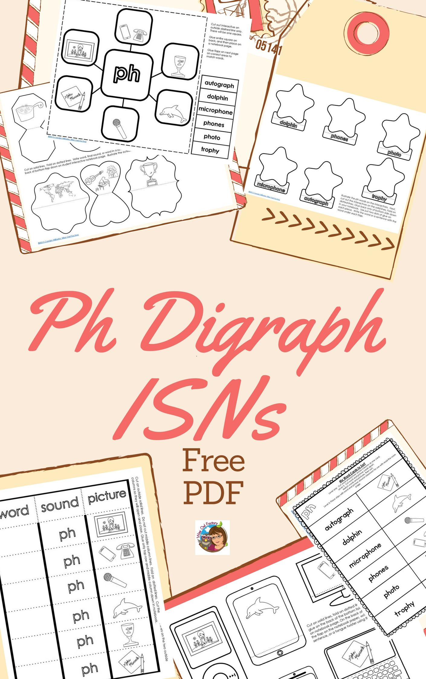 Ph Digraph Interactive Student Notebook Freebie