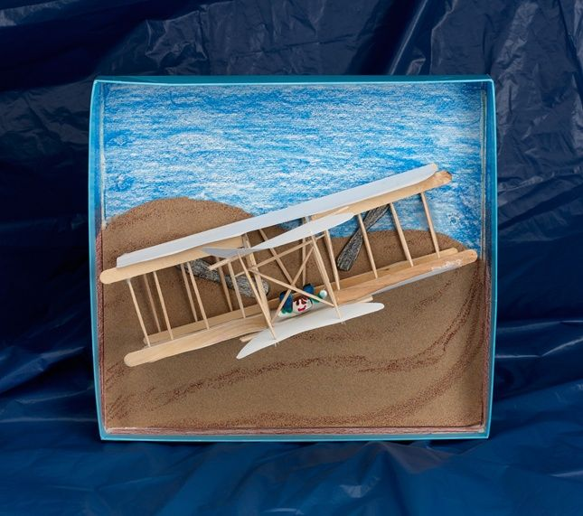 In December 1903, the first controlled airplane flight took place over the dunes near Kitty Hawk, North Carolina. Recreate the Wright brothers' Flyer and the moment that changed transportation.