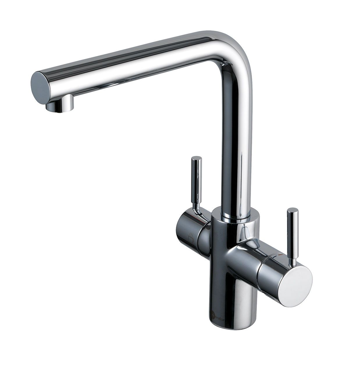 Insinkerator Instant Boiling Hot Water Tap, 3N1 In Chrome. Hot Water, Fresh  Cold