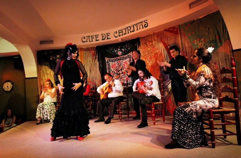 Flamenco Show In Madrid At Cafe De Chinitas Free Drink Or Dinner