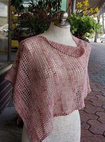 Trellis Wrap - free crochet pattern by Joanne Witzkowski. | crochet ...
