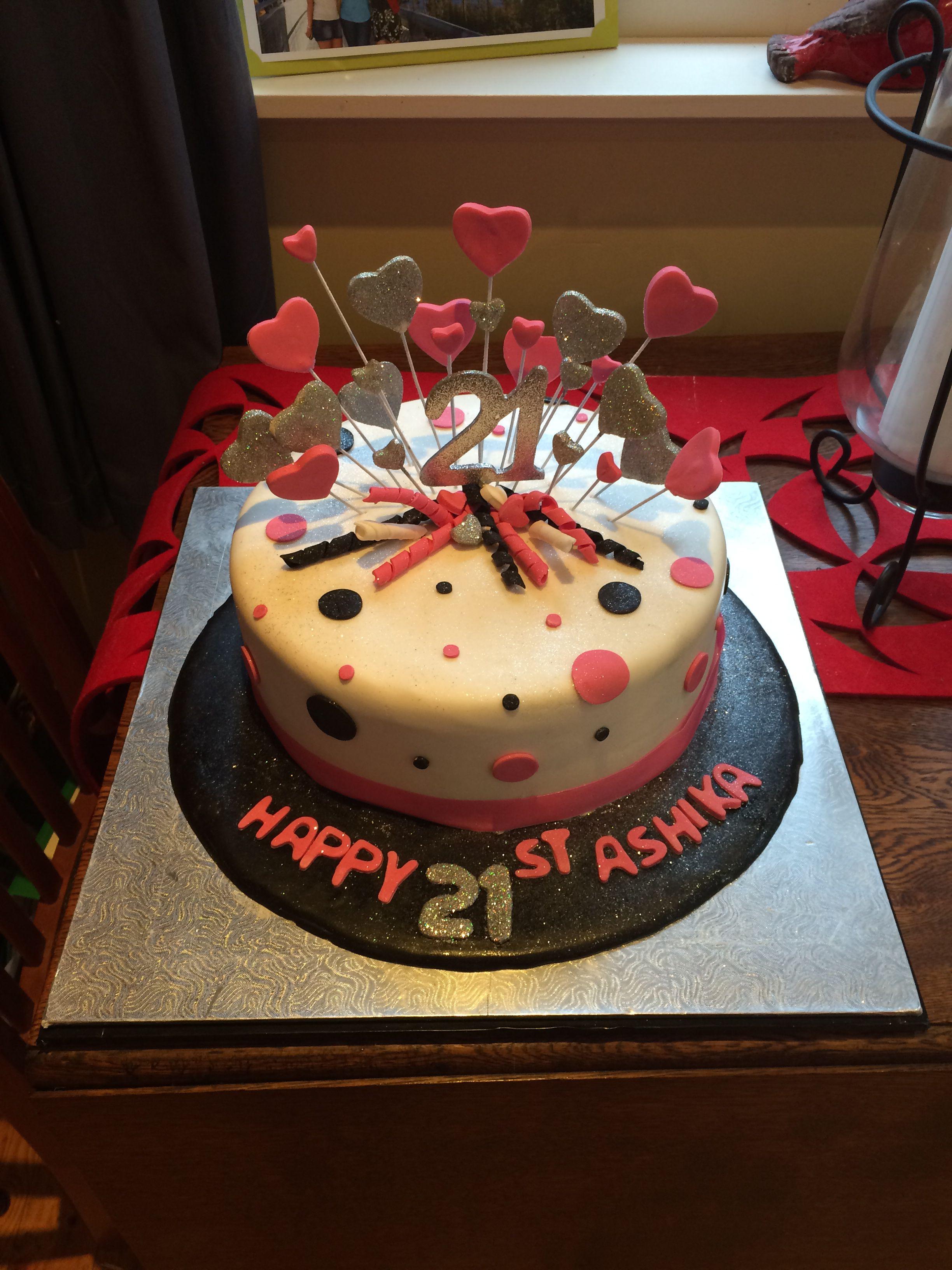16++ 21st birthday cakes for female recipes ideas