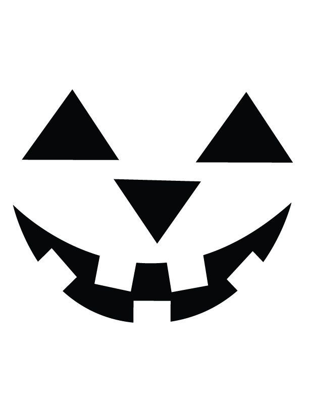 It is an image of Printable Pumpkin Face with regard to halloween