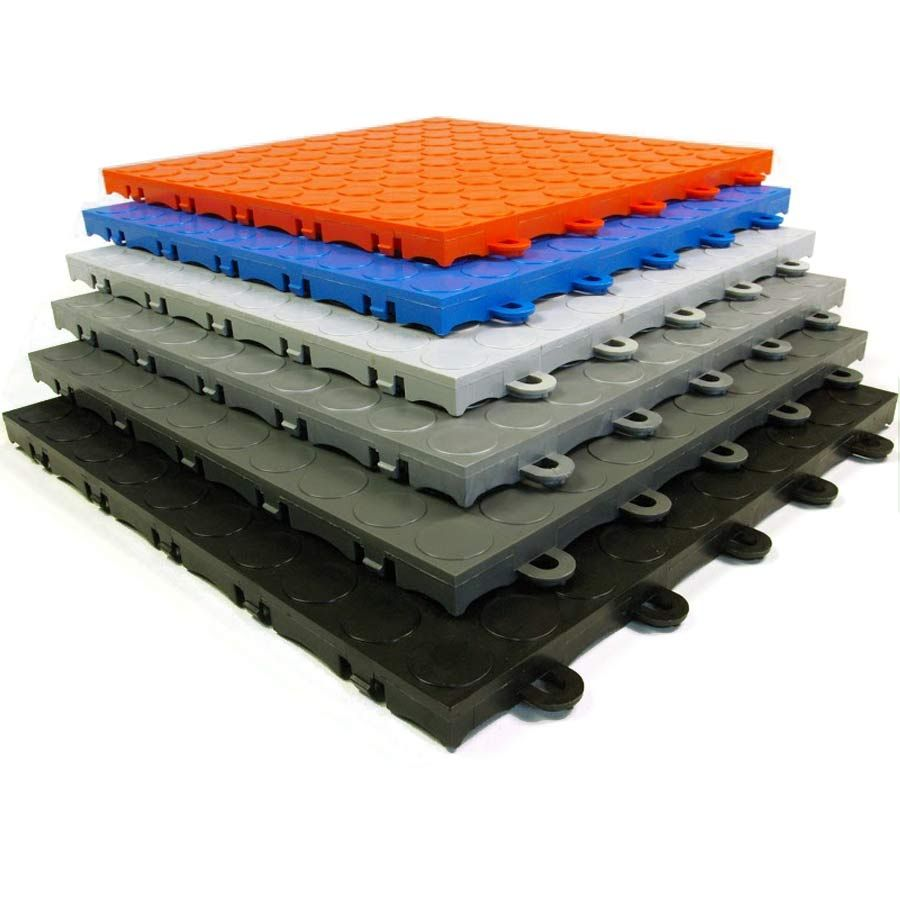 The best interlocking garage floor tile on the market at the best offering the best snap together modular floor tile on the market use this tile for garage floors event floors and portable flooring installations dailygadgetfo Choice Image