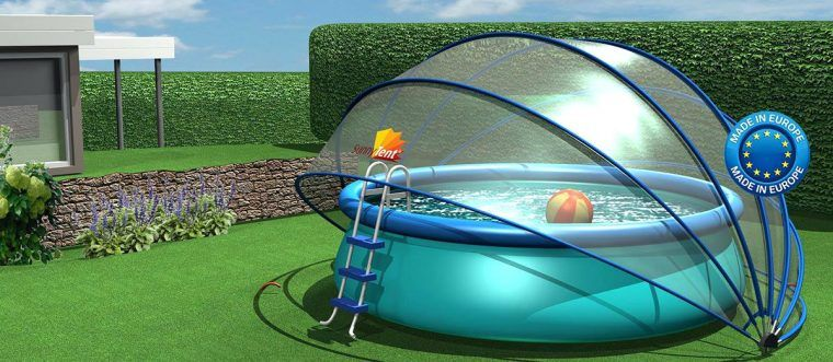 Retractable Pool Dome Cover Diy Pool Dome Cover Sun Dome ...