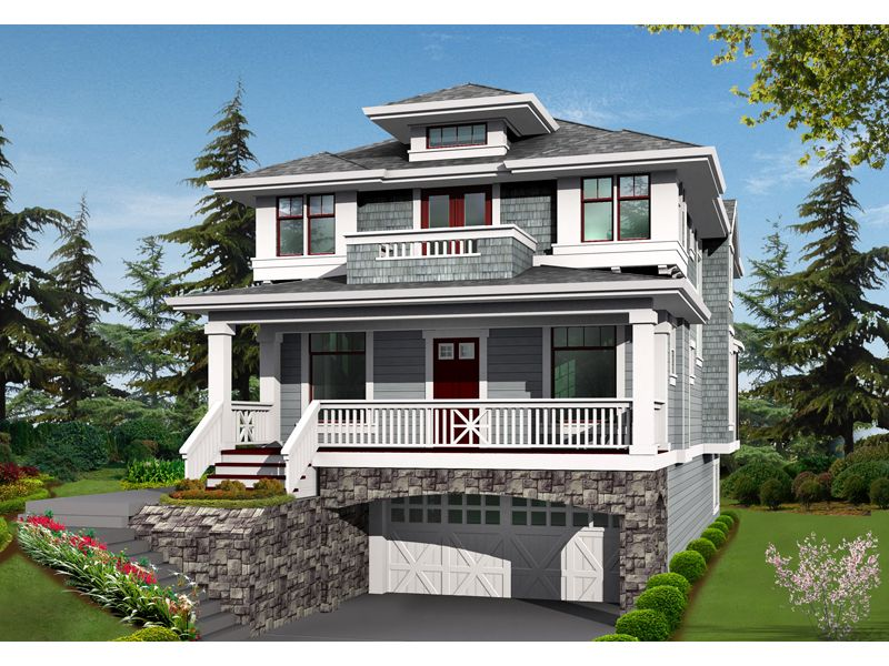 Lindley Forest Two Story Home Craftsman House Prairie Style