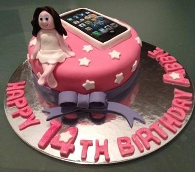 BirthdayCakeIdeasforTeenagerGirljpg Kiddos Pinterest