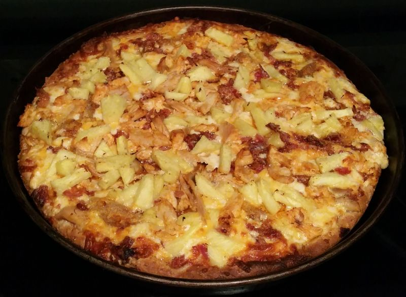 Tropical Chicken Pizza From Boston Pizza Recipe Pizza Recipes Recipes Chicken Pizza