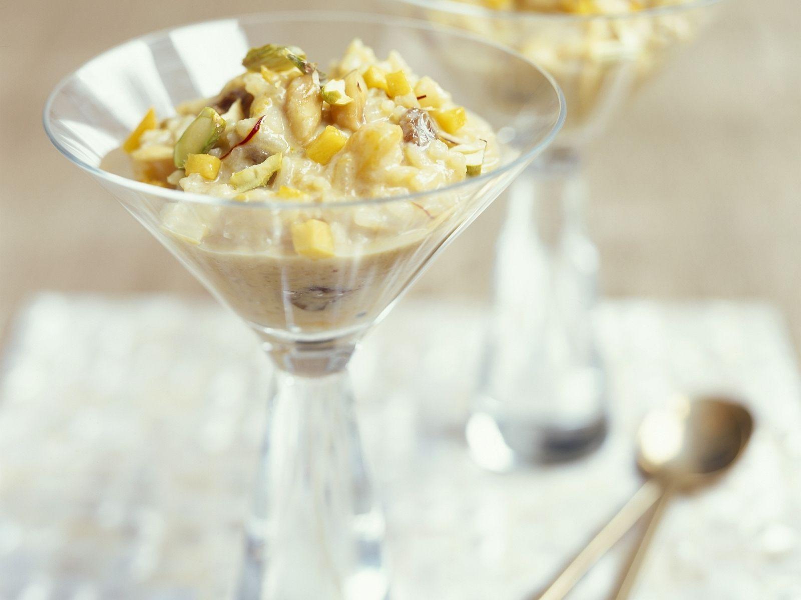 milchreis mit mango nach indischer art rezept milchreis rezepte pinterest einfacher. Black Bedroom Furniture Sets. Home Design Ideas