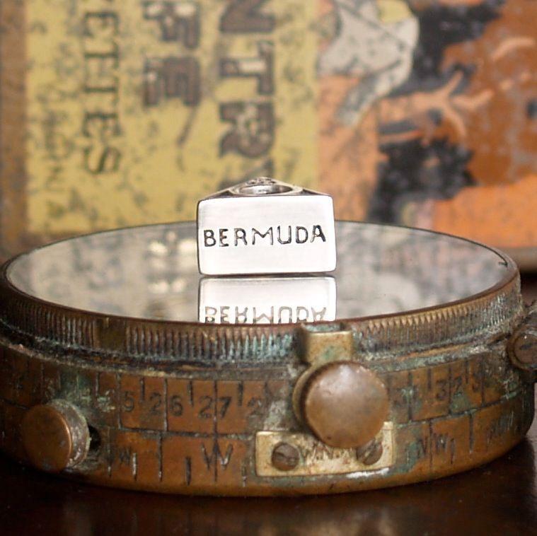 #RedBaliFrog #Silver #Jewellery #Compass #Bermuda