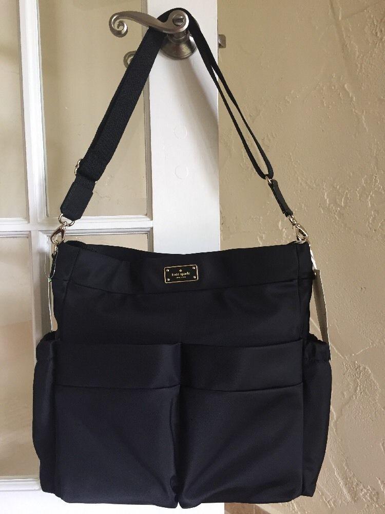 0ffa88430d1f Kate Spade Blake Avenue Adamson Baby Bag Diaper Bag Black Nylon   katespadenewyork