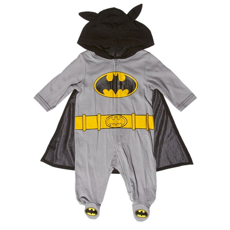 Batman Snap And Play 0 9m Little Toes And Little Nose