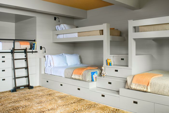 On The Top Bunk Mountain Living Bunk Beds Built In Cool Bunk Beds Bunk Bed Designs