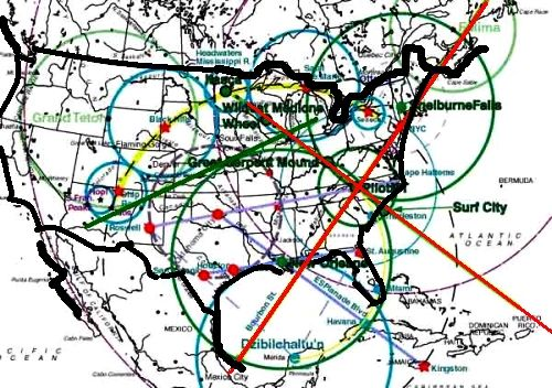 Tx Ley Lines Map Design Collection Ley Lines Map