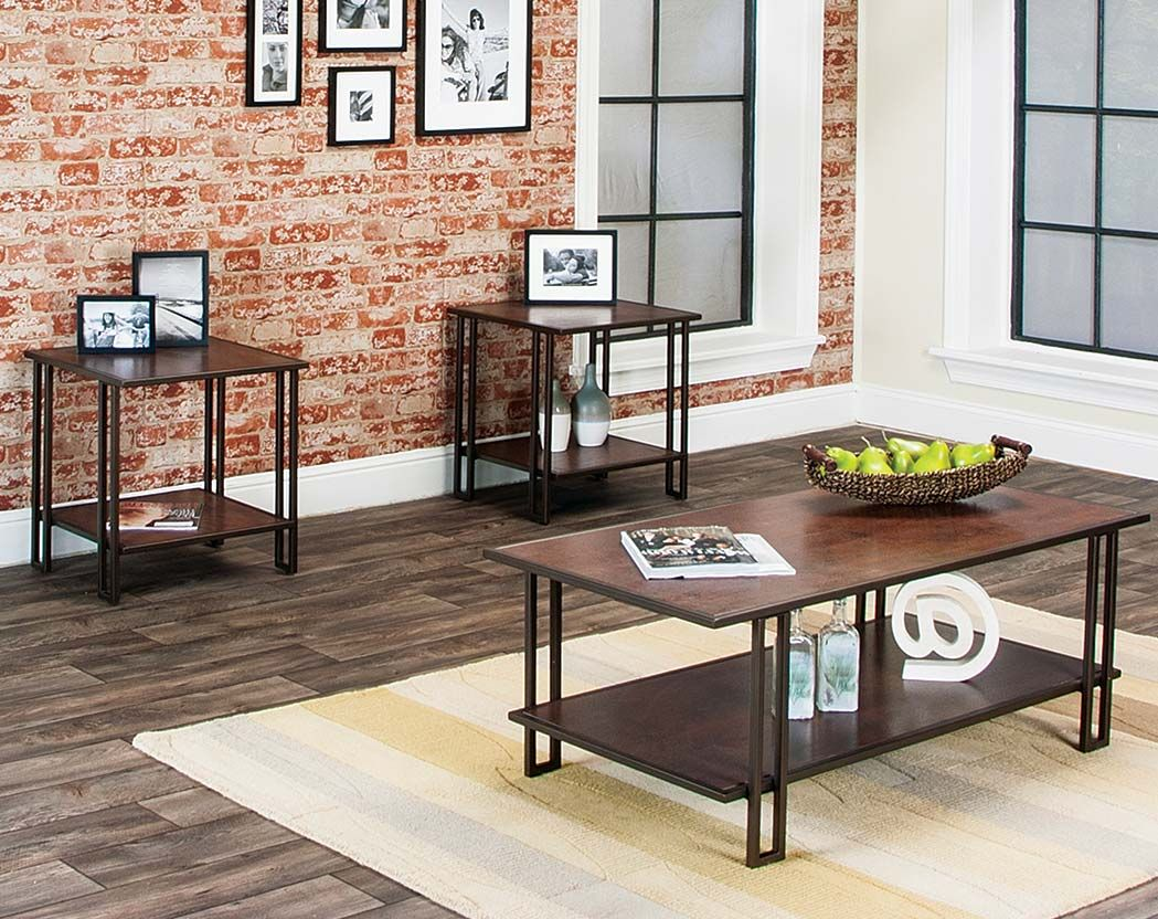 Oak And Bronze Side And Coffee Tables Roma 3 Piece Table Set Coffee Table Table Coffee And End Tables [ 832 x 1049 Pixel ]