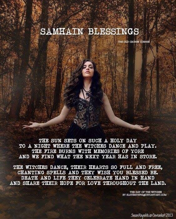 Samhain Blessing Witches Dance Blessed Samhain Samhain