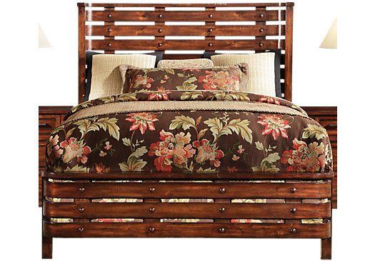 Panama Jack Eco Jack 3 Pc King Bed Wooden Fence