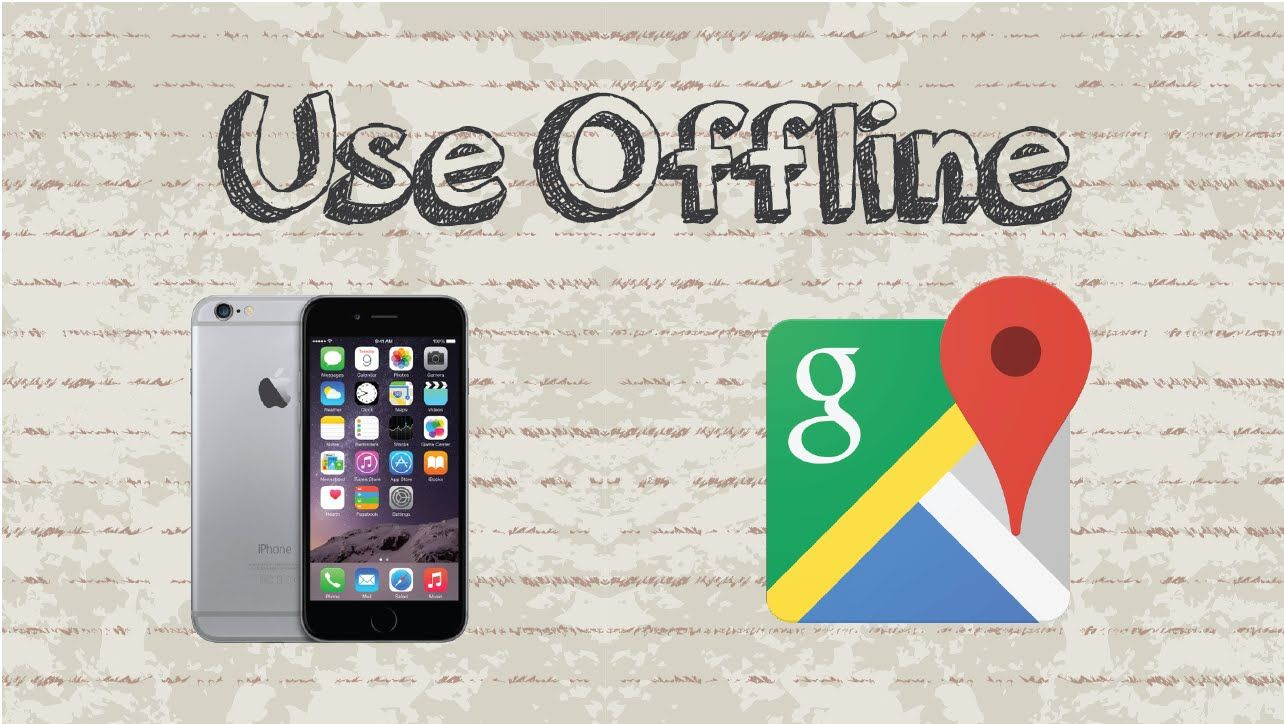 How to use Google Maps offline Mobile App (Android