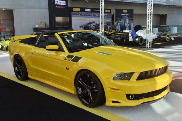01 Saleen 302 Sc Black Label With Images Ford Mustang 2014