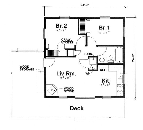 Compact Cabin Designs Small Cabin House Floor Plans Floorplan