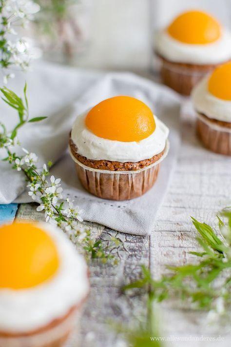 Zum Osterfest: Süße Spiegeleier-Muffins mit Schokolade
