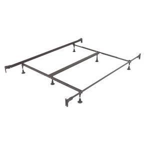 Universal Bed Frame Black Queen King Fashion Bed Group Target With Images Adjustable Bed Frame Bed Styling King Bed Frame