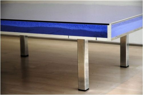 Artware Editions Yves Klein Coffee Table Currently