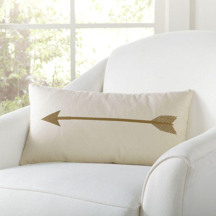 Admirable Birch Lane Cupids Arrow Pillow Cover Birch Lane For The Inzonedesignstudio Interior Chair Design Inzonedesignstudiocom