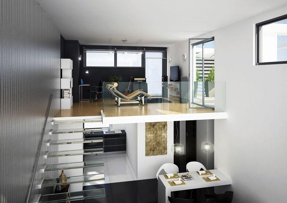 7 Inspirational Loft Interiors House Plan With Loft Loft Style Homes Loft Style Bedroom