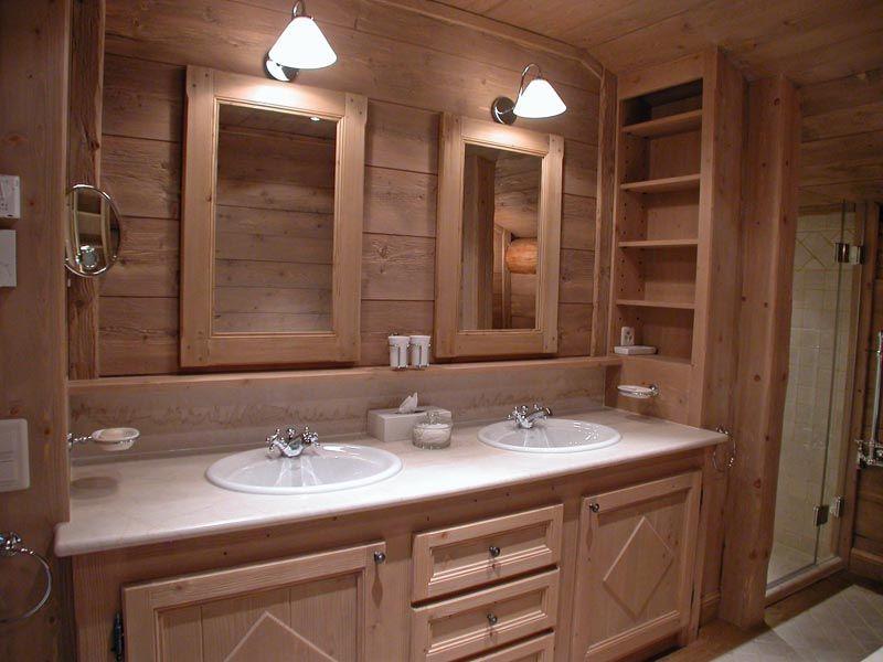 awesome Idée décoration Salle de bain - Des touches de rouge dans