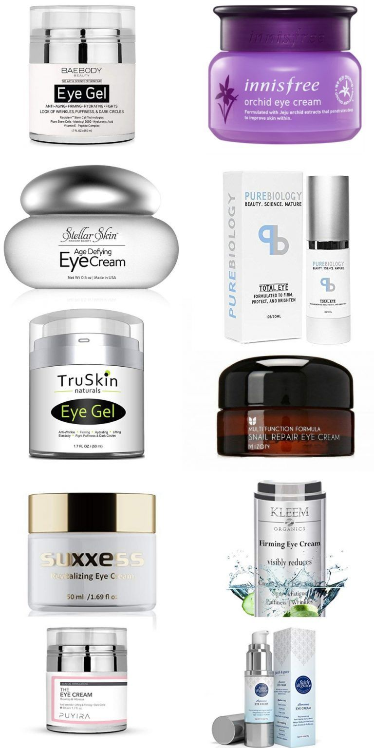 Best Korean Eye Creams For Dark Circles Womensskincarefaces In