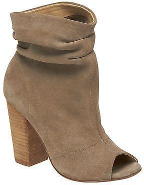 2d5b9e2f4d1 Love the slouchy ankle! Nine West Kacey Peep Toe Booties | Women's ...